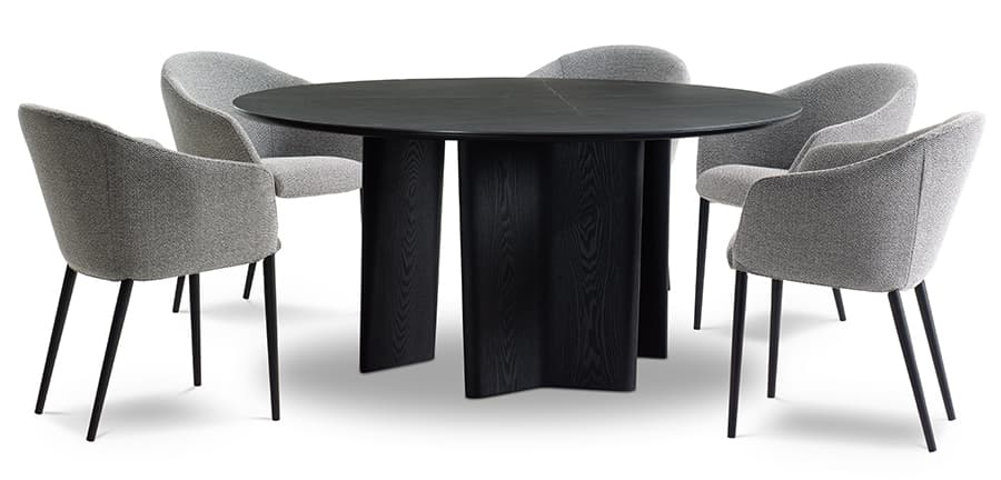 Issho Round Dining Table
