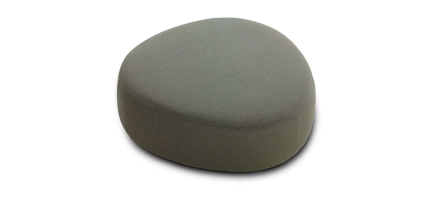 Crescent Outdoor Ottoman Large